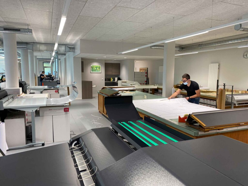 Digital printing in Geneva